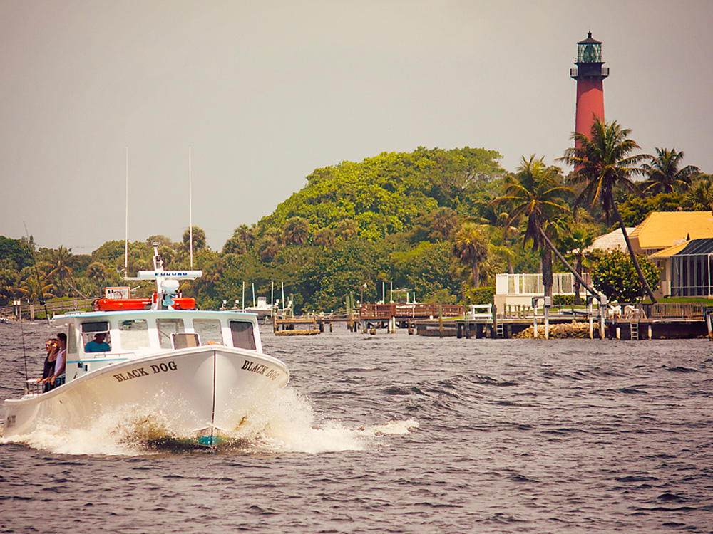 Jupiter Inlet and Lighthouse
