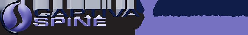 Captiva Spine Logo and Tagline