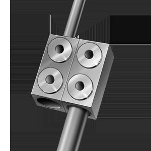 HyperLOX Posterior Cervical Wedding Band Connector